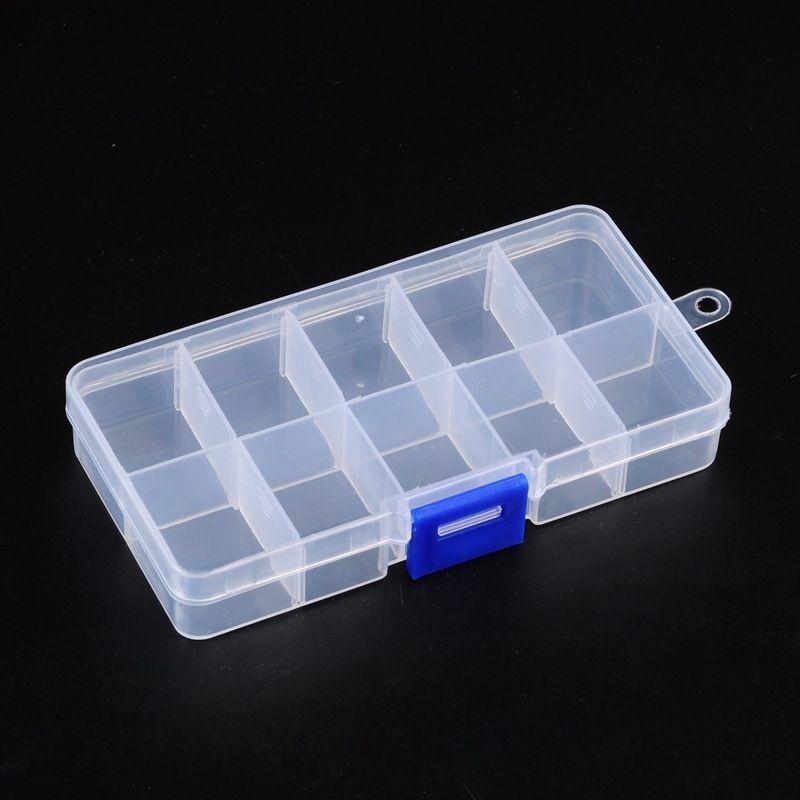 Zásobník plastový malý modrý zámek