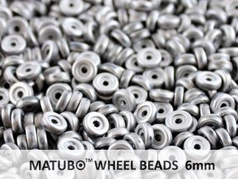 Wheel 6 mm křída labrador mat