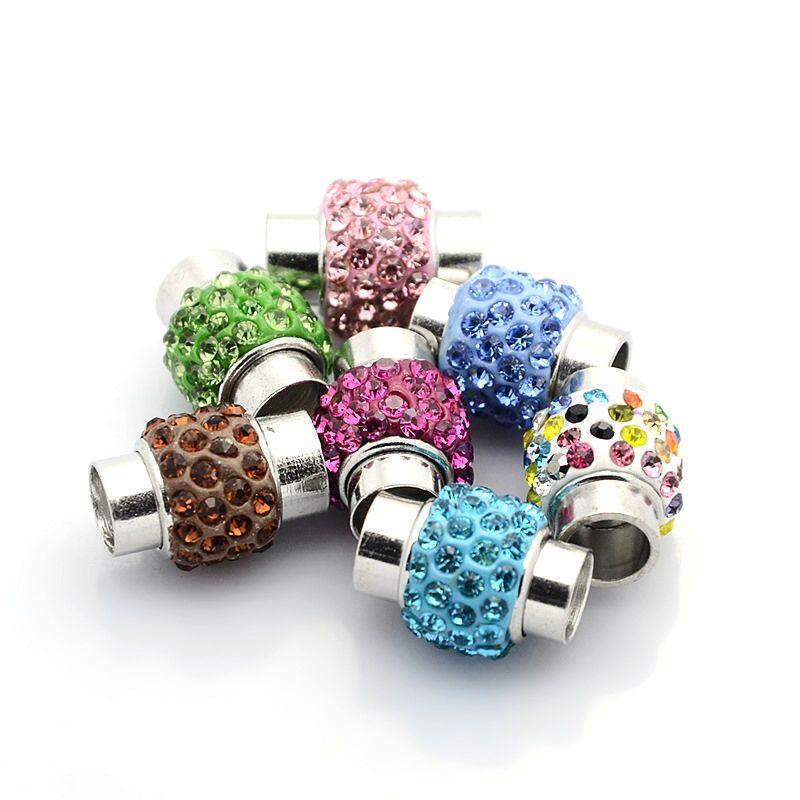 Magnet vlepovací šatony barevný 7mm
