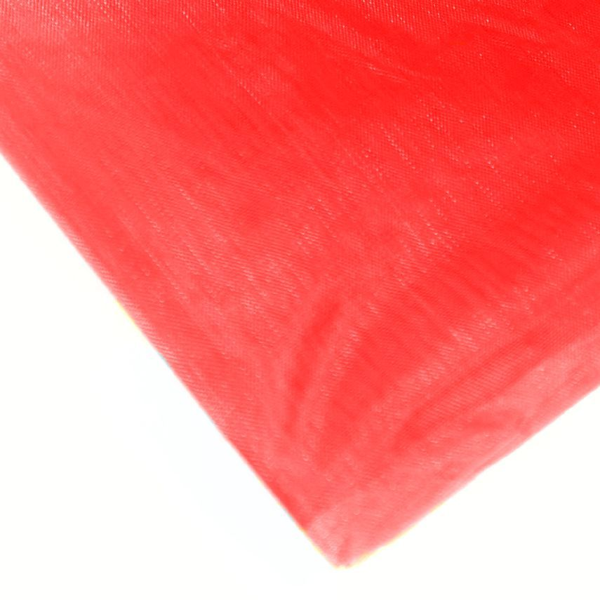 Organza 50 x 36 cm červená