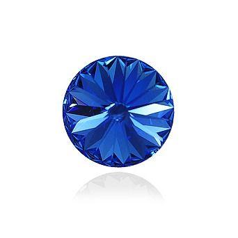 Swarovski® Sapphire 14 mm