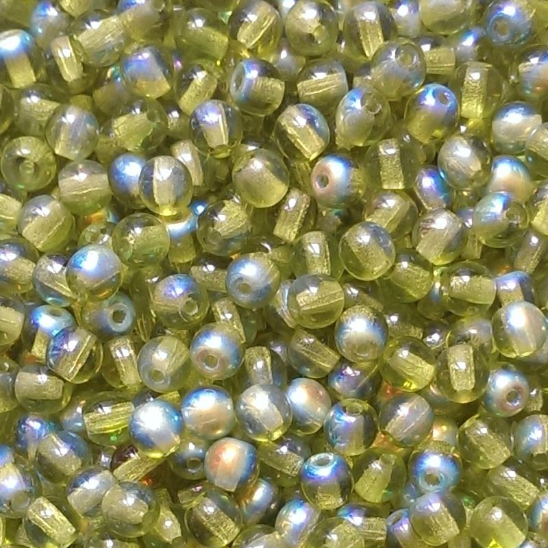 Kulička zelená AB 4 mm