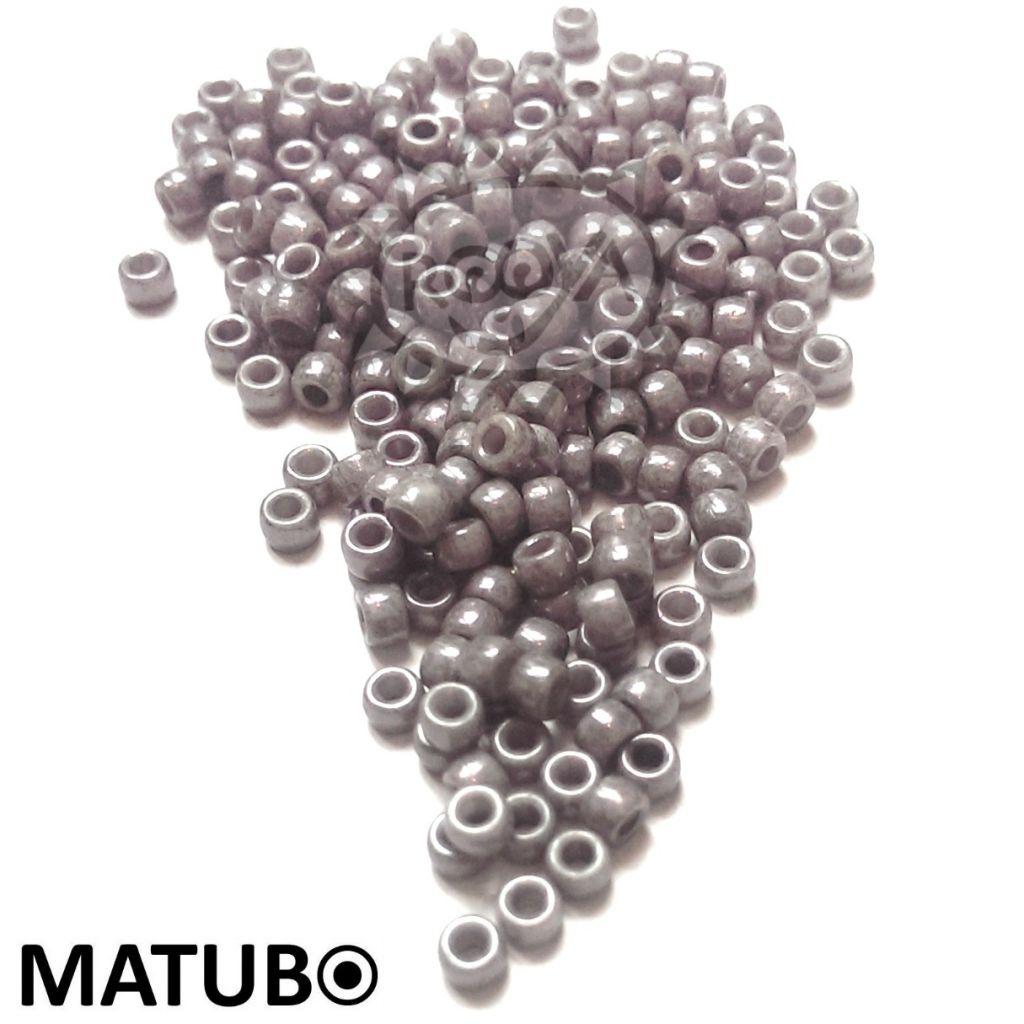 Matubo 7/0 křída jet listr