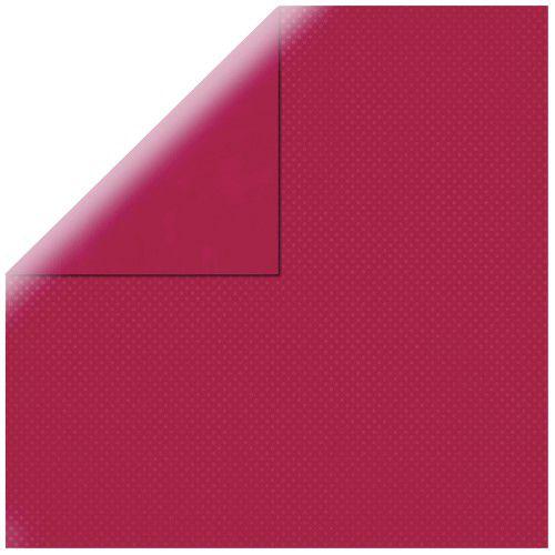 SP Double Dot, třešňový, 30,5x30,5cm, 190g/m2