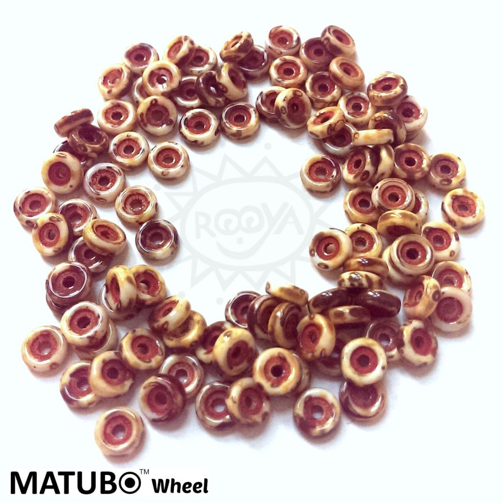 Wheel 6 mm křída travertin silný