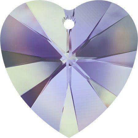 Swarovski Srdce 18 Cr. Vitrail light