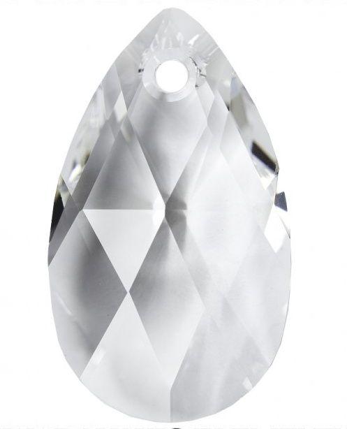 Swarovski Hruška 16 Crystal