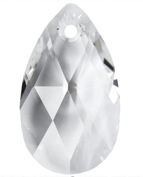 Swarovski Hruška 22 Crystal