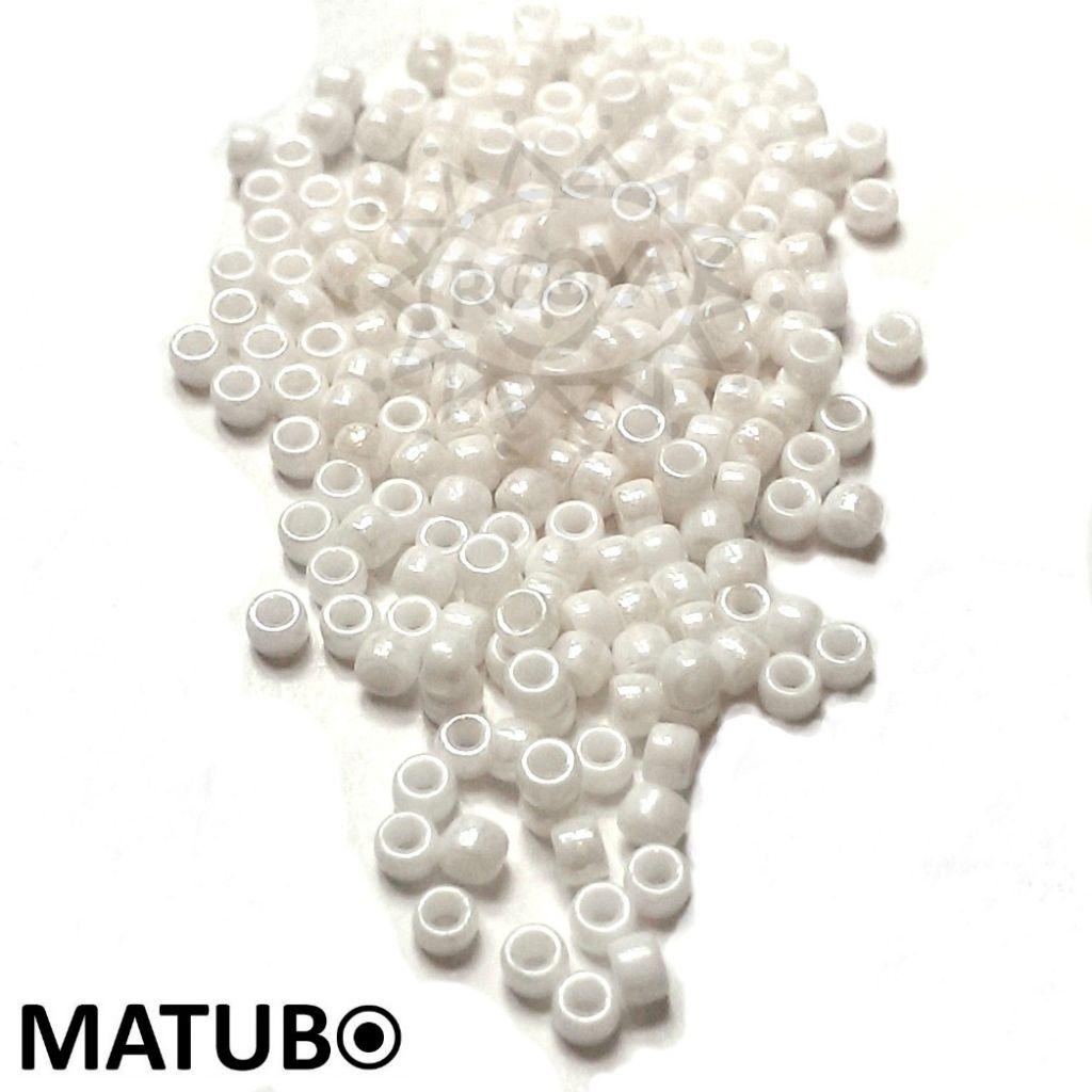 Matubo 7/0 křída bílý listr