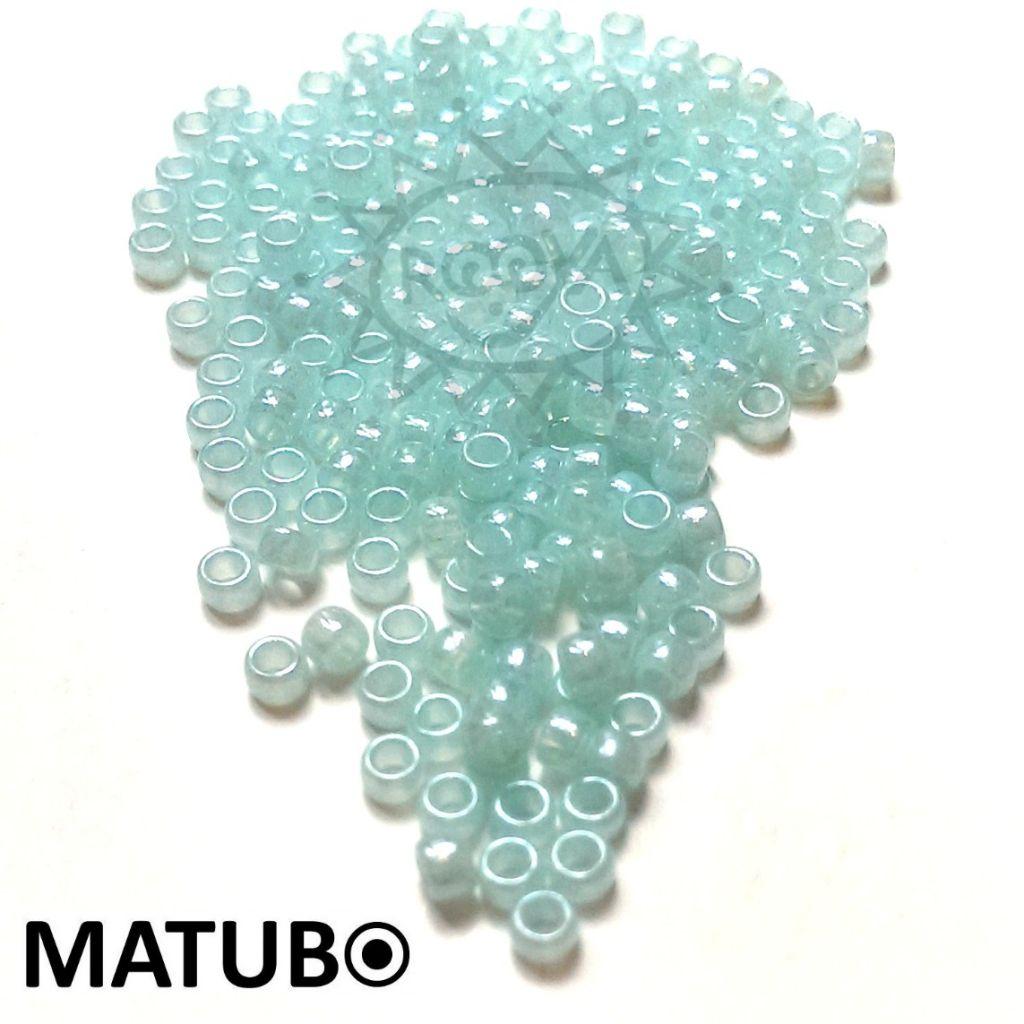 Matubo 7/0 akva opál s listrem