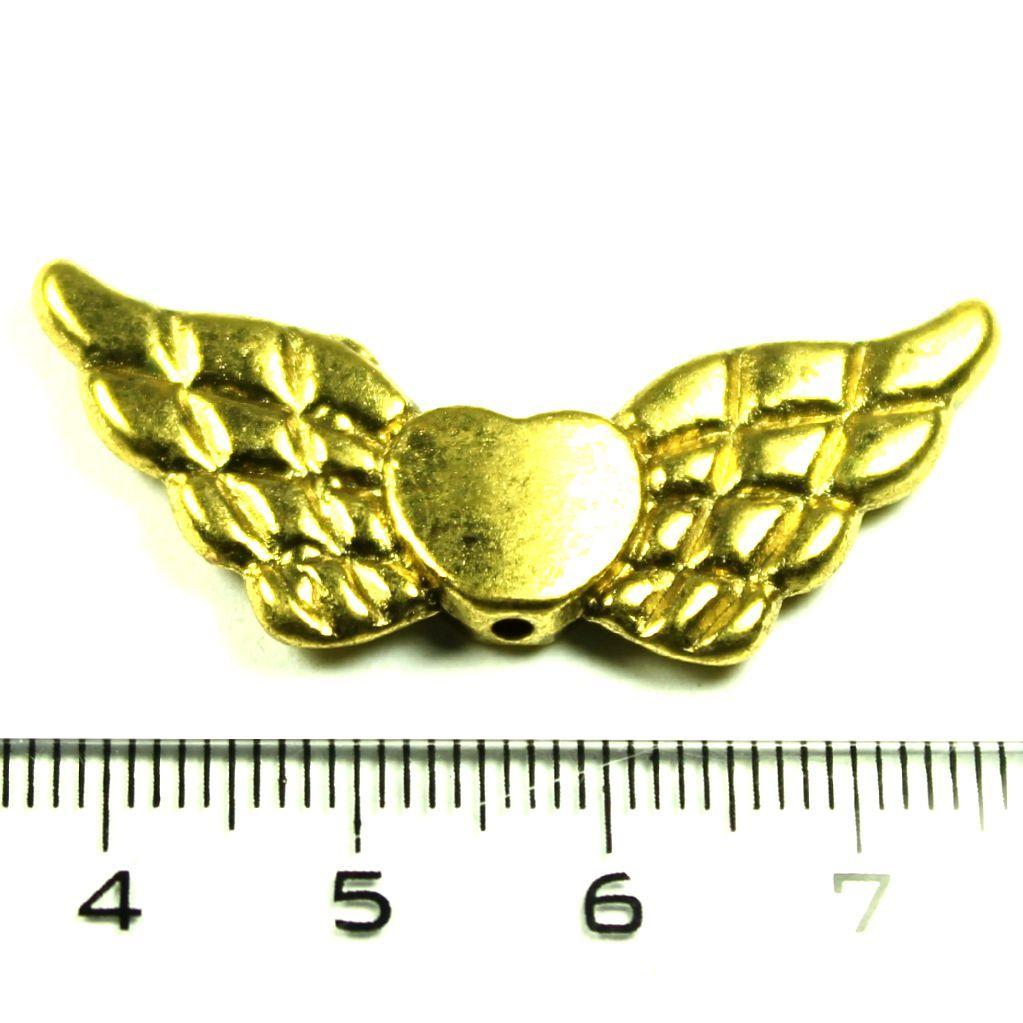Křídla starozlato velká