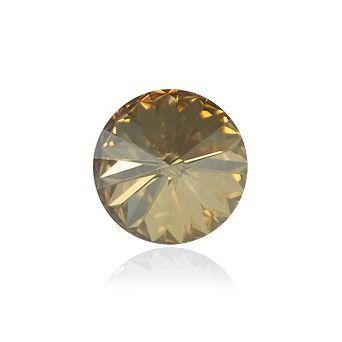Swarovski® CR Gold shadow 14 mm