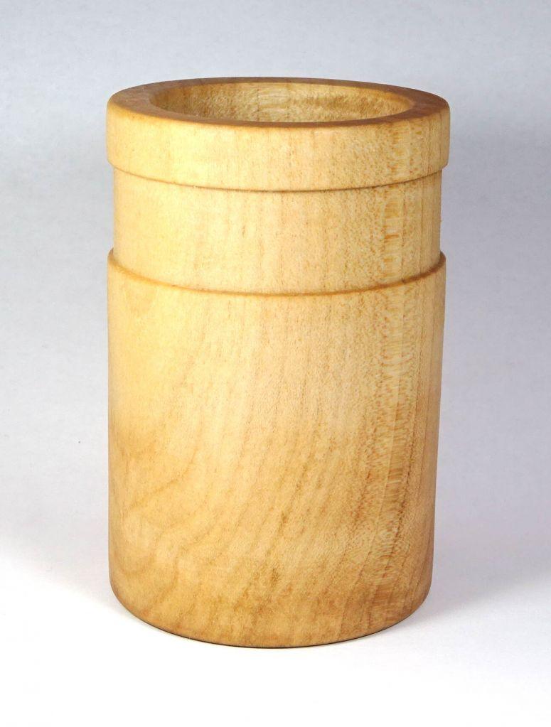 Dřevěný tužkovník se žlábkem buk