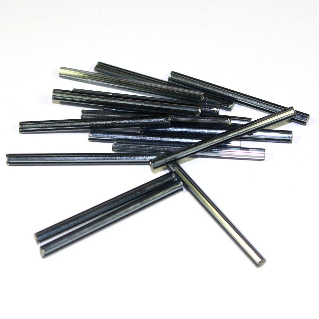 Trubičky rovné 25 mm šedé