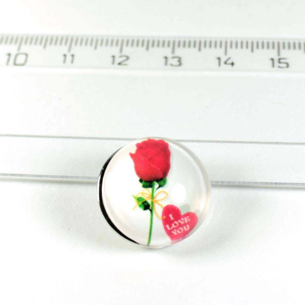 CVAK buton růže