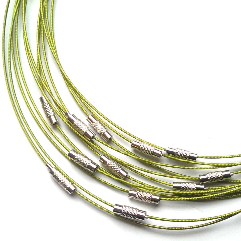 Obruč lanko světle zelené