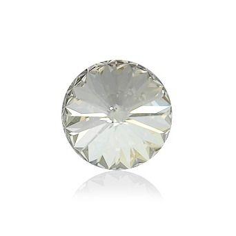 Swarovski® CR Silver Shade 12 mm