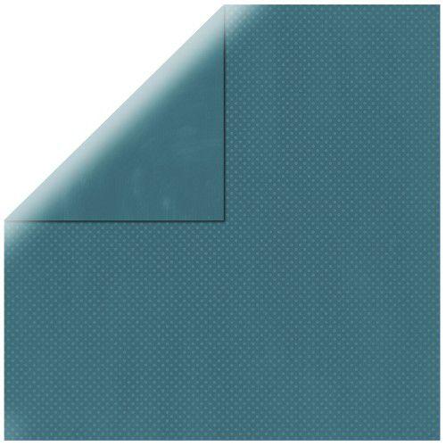 SP Double Dot, džínová, 30,5x30,5cm, 190g/m2