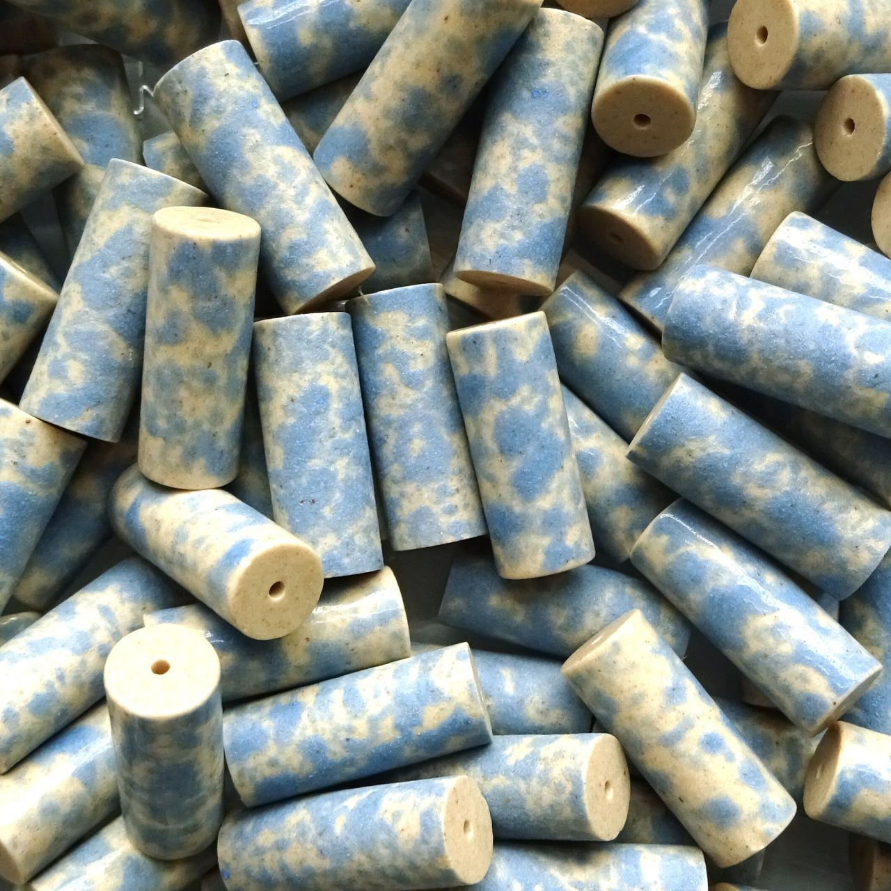 Keramické válečky 7x18 mm modré