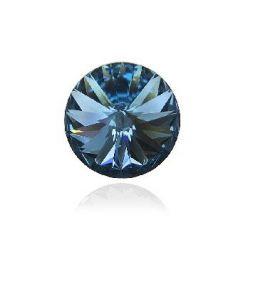 Swarovski® Denim blue 12 mm