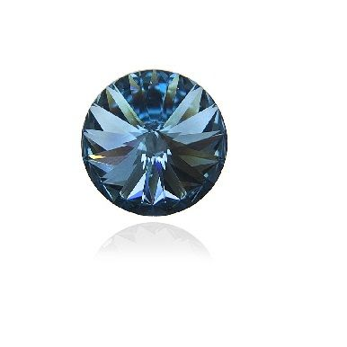 Swarovski® Denim blue 12 mm
