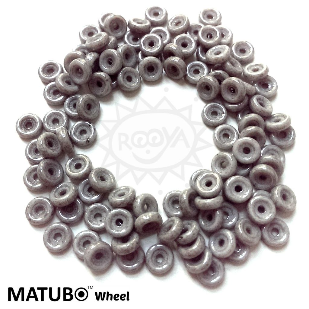 Wheel 6 mm křída černý listr