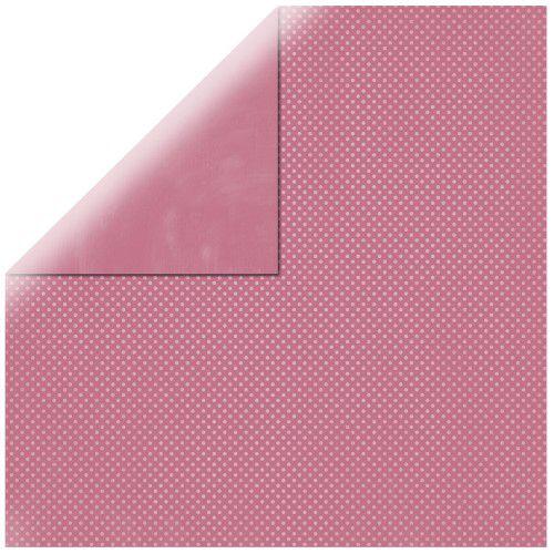 SP Double Dot, starorůžová, 30,5x30,5cm, 190g/m2