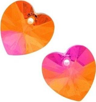 Swarovski Srdce 10 Cr. Astral pink