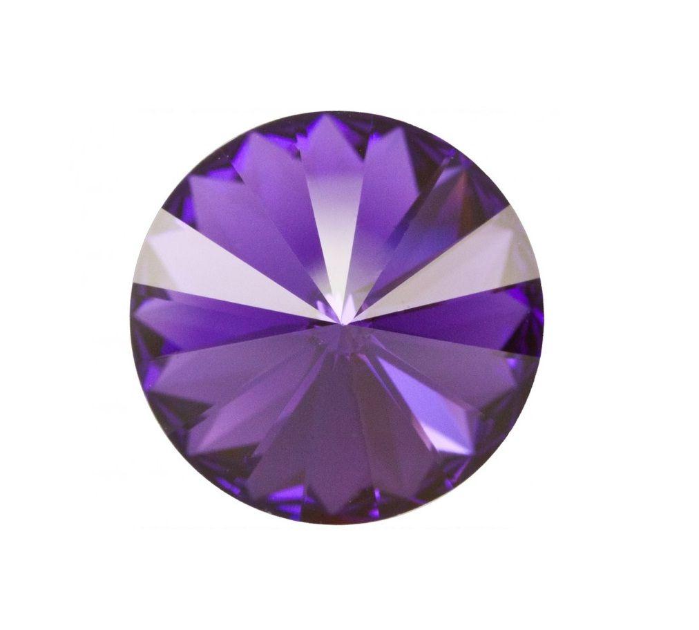 Swarovski® Rivoli Purple velvet 10mm