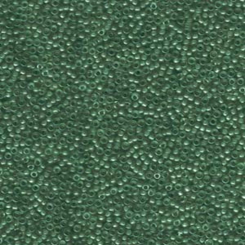 MSB 15/0 Lined Emerald Luster