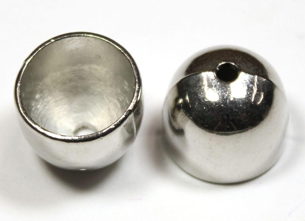 Kaplík hladký litý stříbrný