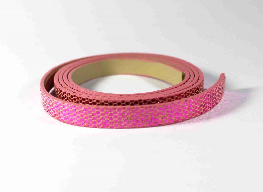 INFINITY pásek s flitry růžový