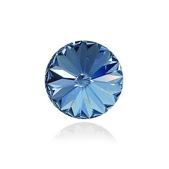 Swarovski® Light sapphire 14 mm