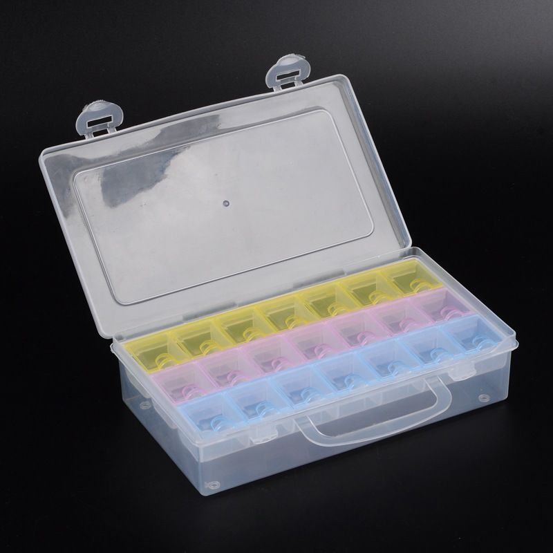 Zásobník plastový barevný