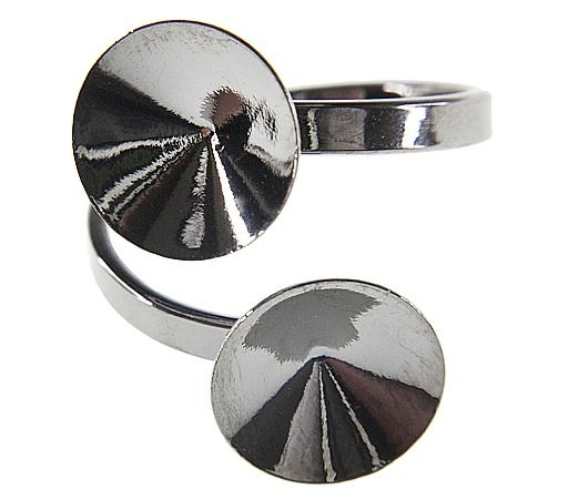 Dvojitý prsten na rivoli 12mm