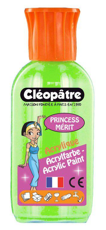 Akrylová barva PRINCESS MERIT 55ml Neonová Zelená