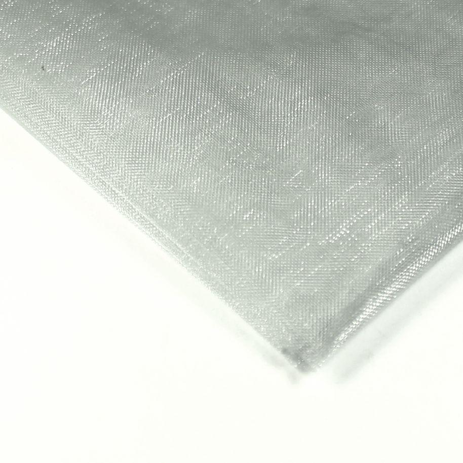 Organza 50 x 36 cm šedá