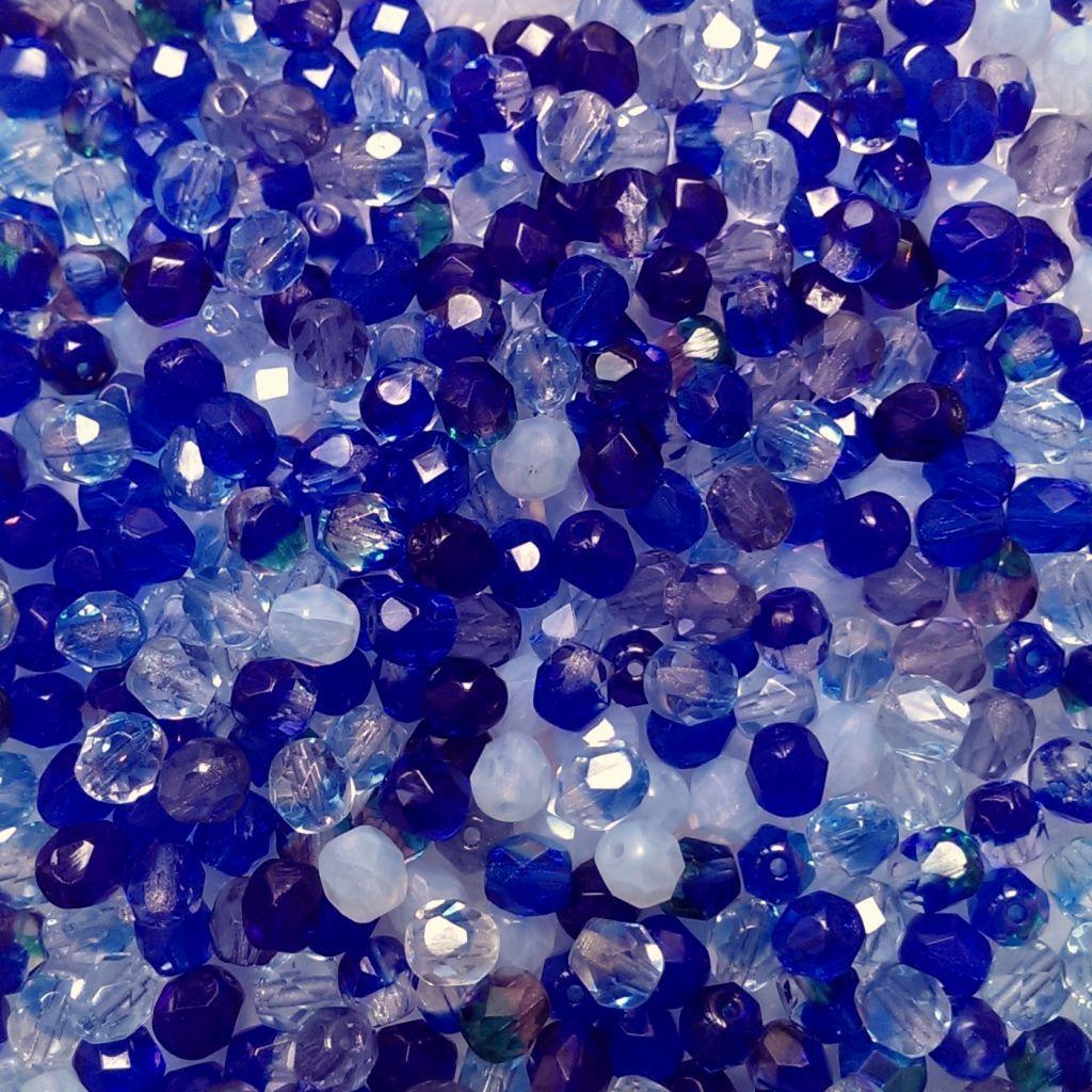 Ohňovky 6 mm modrý mix