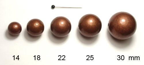 Kulička 25 staroměď