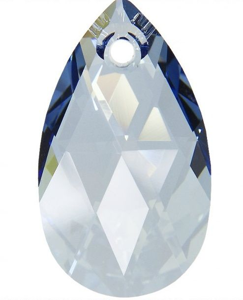 Swarovski Hruška 16 Cr. Blue shade