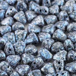 NIB-BIT tweedy blue