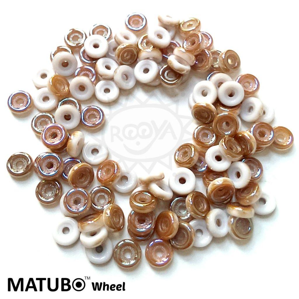 Wheel 6 mm křída celsián