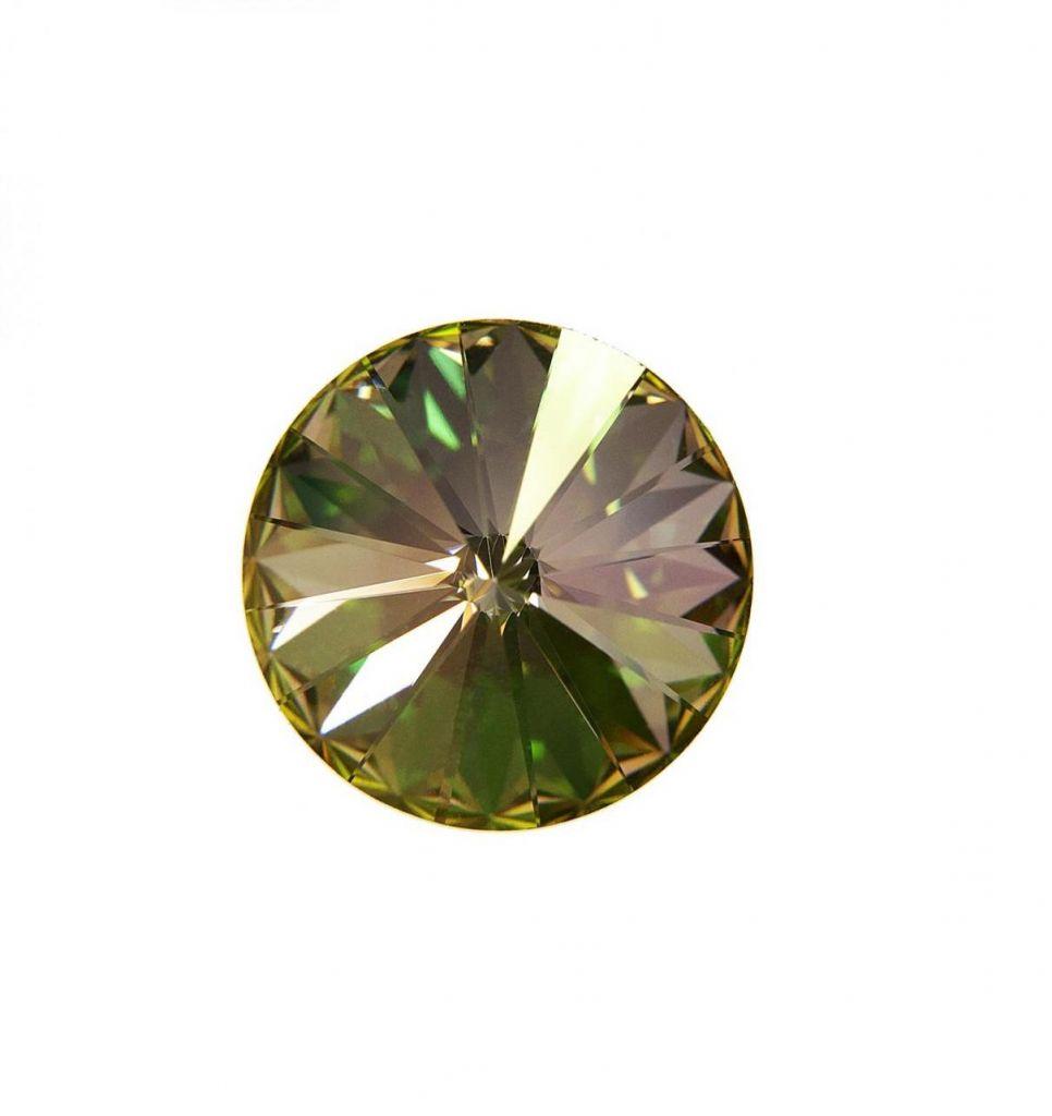 Swarovski® CR Luminous Green 12 mm