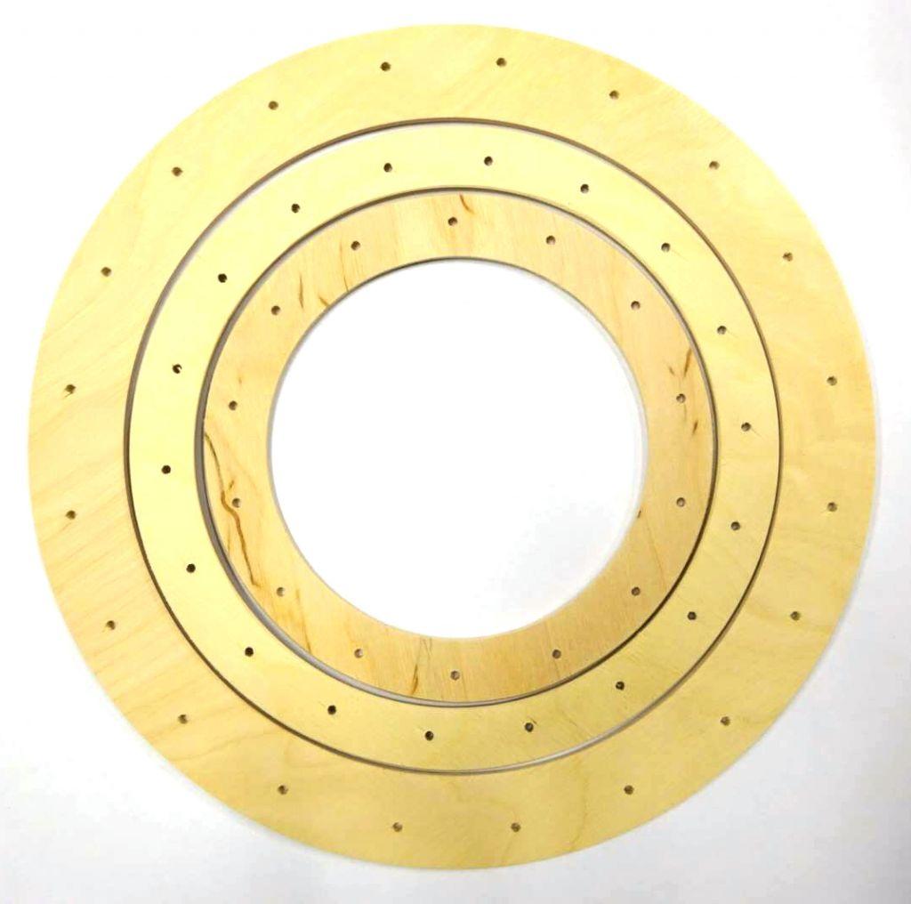 Dřevěný kruh 19 cm