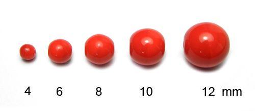 Kulička opak červená