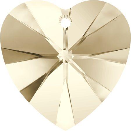 Swarovski Srdce 10 Light silk