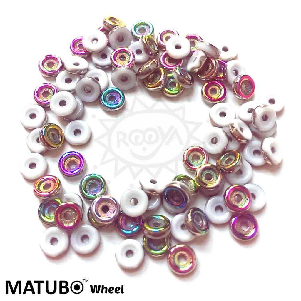 Wheel 6 mm křída vitrail