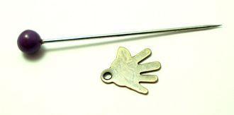 ručka kovová starozlato