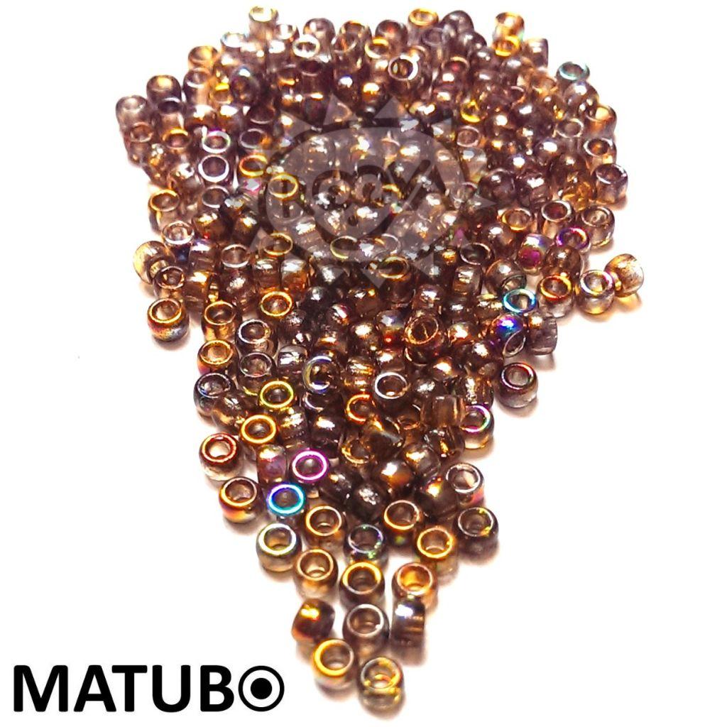 Matubo 7/0 magic oranžová šedá