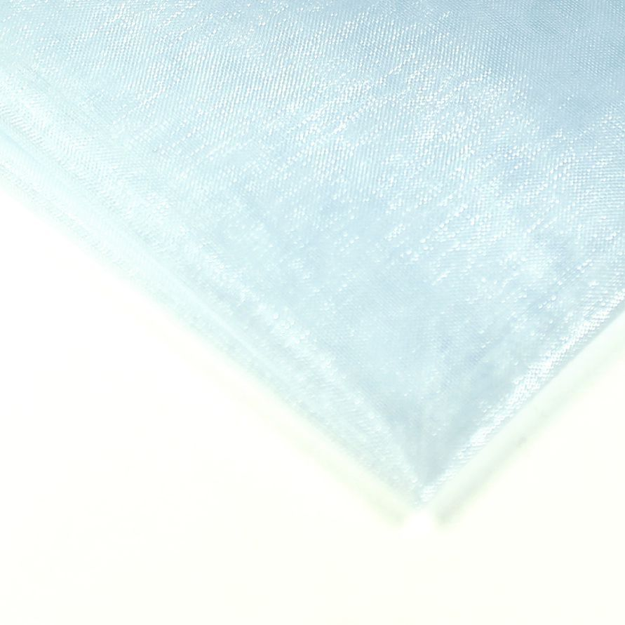 Organza 50 x 38 cm světle modrá